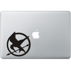 The Hunger Games Macbook Aufkleber