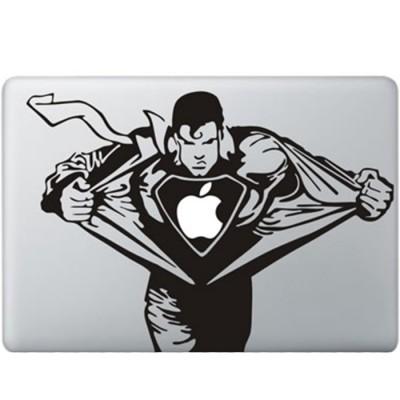 Superman MacBook Aufkleber Schwarz MacBook Aufkleber