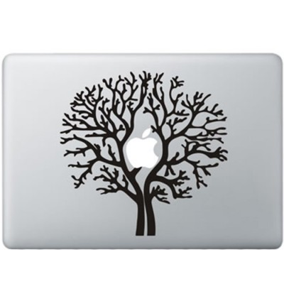 Apple Baum MacBook Aufkleber