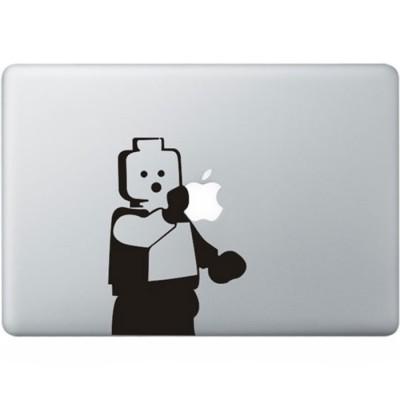 LEGO MacBook Aufkleber Schwarz MacBook Aufkleber