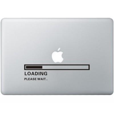 Apple Loading MacBook  Aufkleber