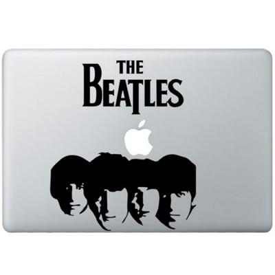 The Beatles (2) MacBook Aufkleber Schwarz MacBook Aufkleber