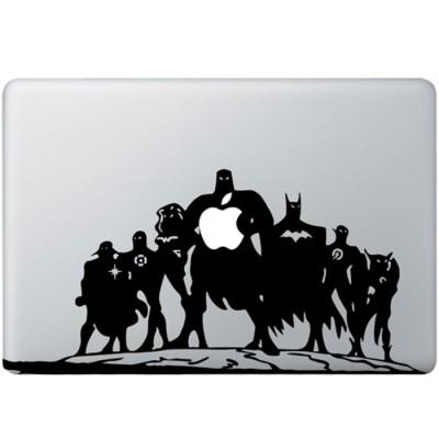 Justice League MacBook Aufkleber
