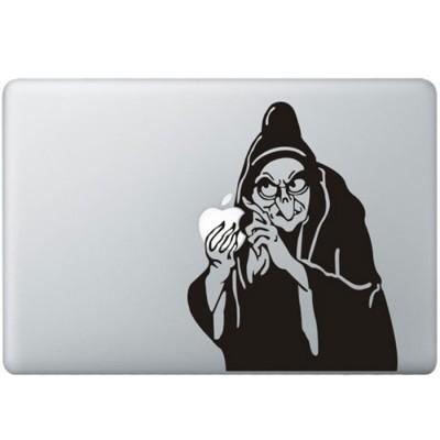 Schneeuwittchen Hexe MacBook Aufkleber Schwarz MacBook Aufkleber