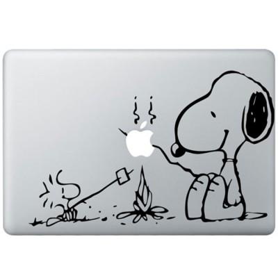 Snoopy MacBook Aufkleber
