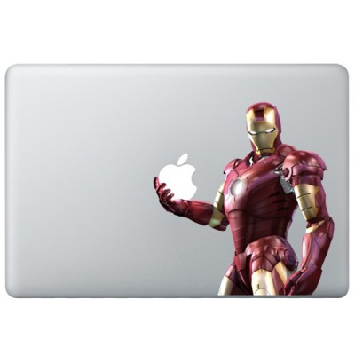 Iron Man (3) Farbig MacBook Aufkleber   Fabrige MacBook Aufkleber