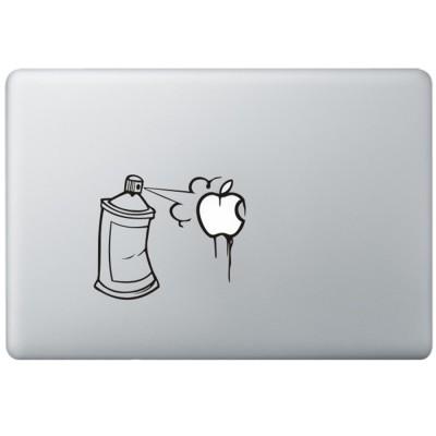Graffiti MacBook  Aufkleber Schwarz MacBook Aufkleber