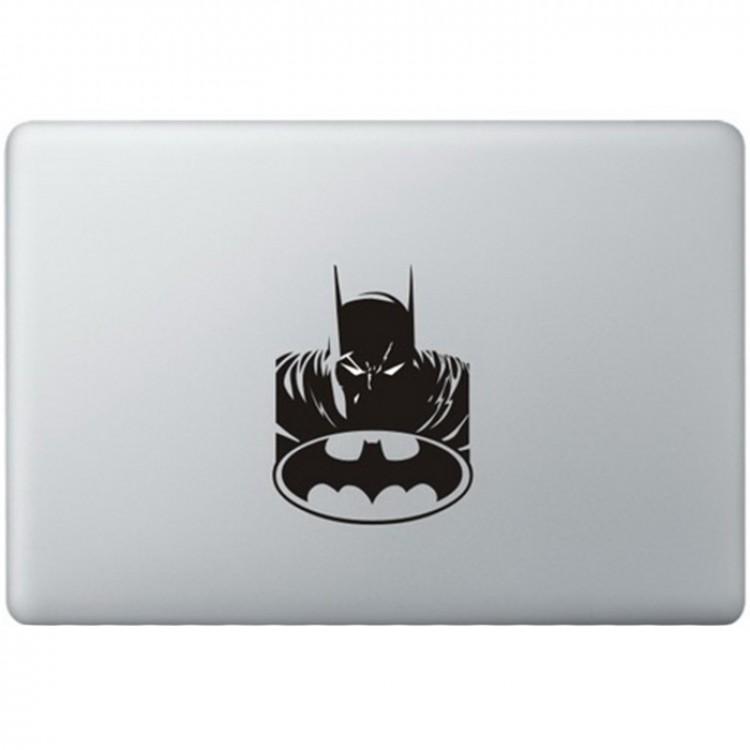 Batman Logo (2) MacBook Aufkleber Schwarz MacBook Aufkleber
