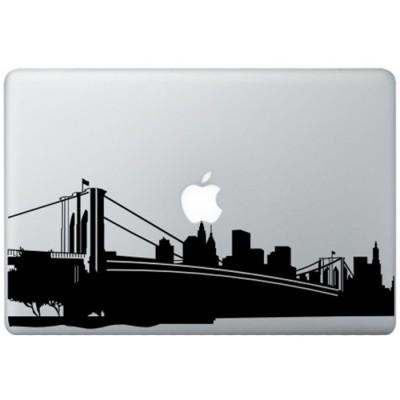 New York MacBook Aufkleber