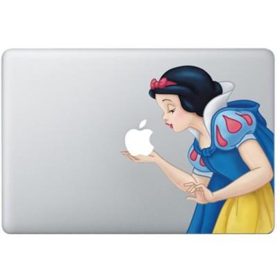 Schneewittchen Farbig (2) MacBook  Aufkleber Fabrige MacBook Aufkleber