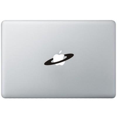Apple Weltraum MacBook Aufkleber Schwarz MacBook Aufkleber