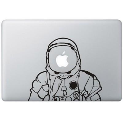 Astronaut MacBook Aufkleber