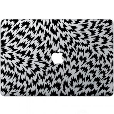 Optische Illusion Macbook  Aufkleber