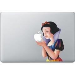 Schneewittchen farbig MacBook Aufkleber